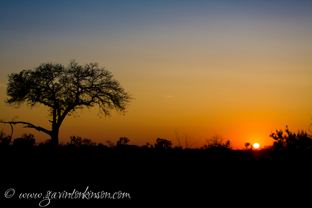 Sunrise from vaalboom 1